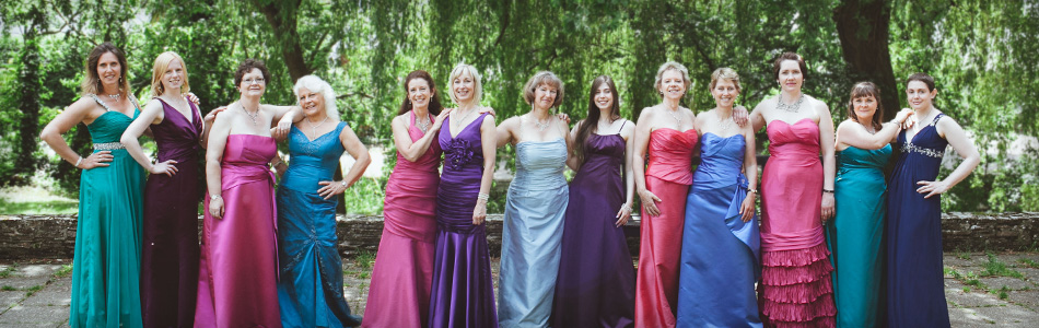 Dorset classical choir La Nova Singers pictured in Christchurch
